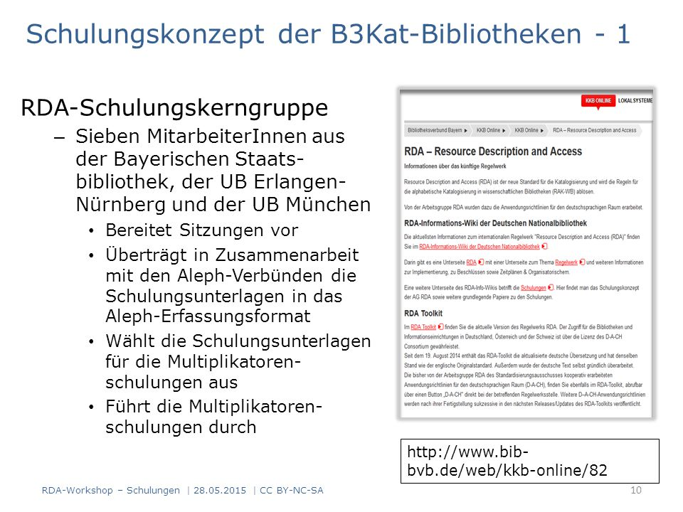 Schulungskonzept der B3Kat-Bibliotheken - 1