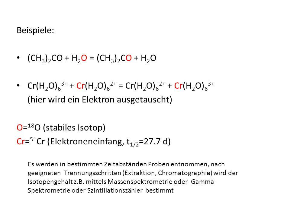 Cr(H2O)63+ + Cr(H2O)62+ = Cr(H2O)62+ + Cr(H2O)63+