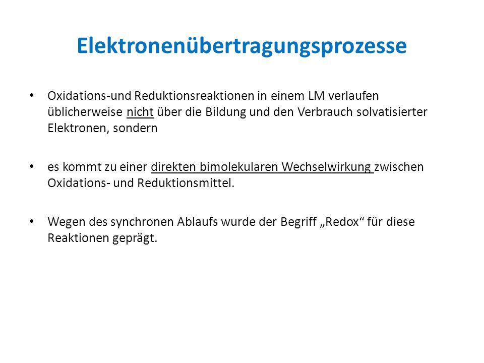 Elektronenübertragungsprozesse