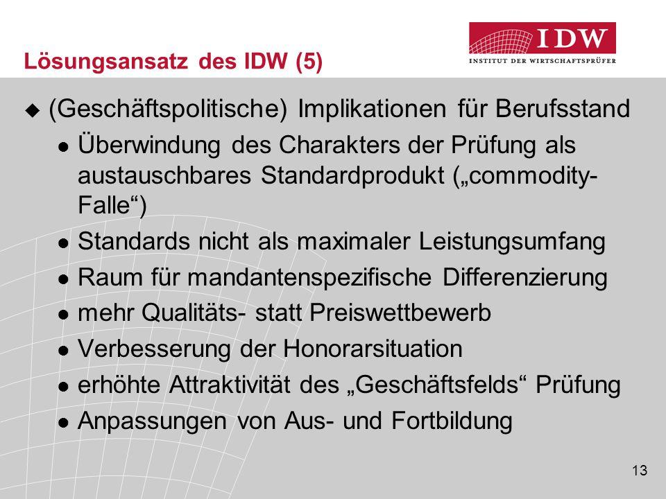 Lösungsansatz des IDW (5)