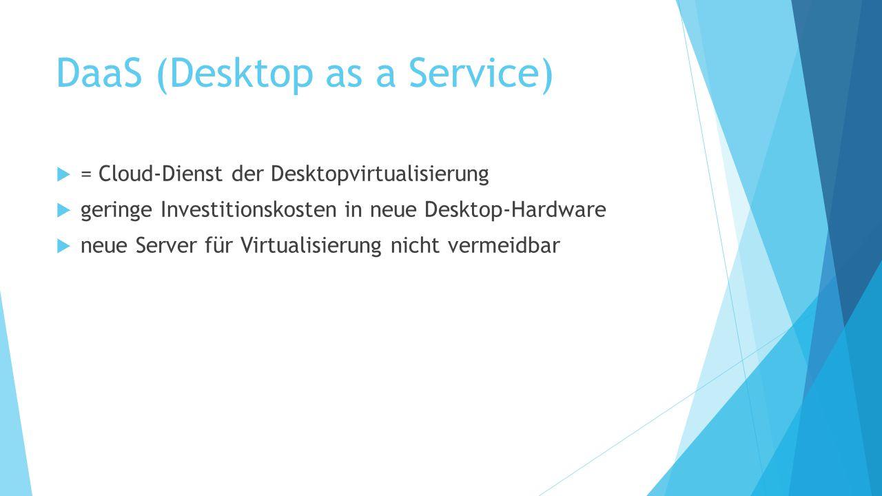 DaaS (Desktop as a Service)