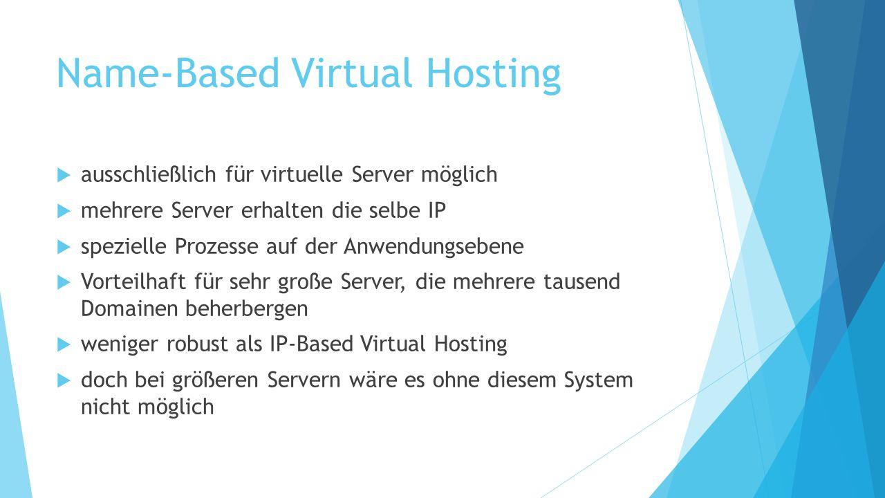 Name-Based Virtual Hosting