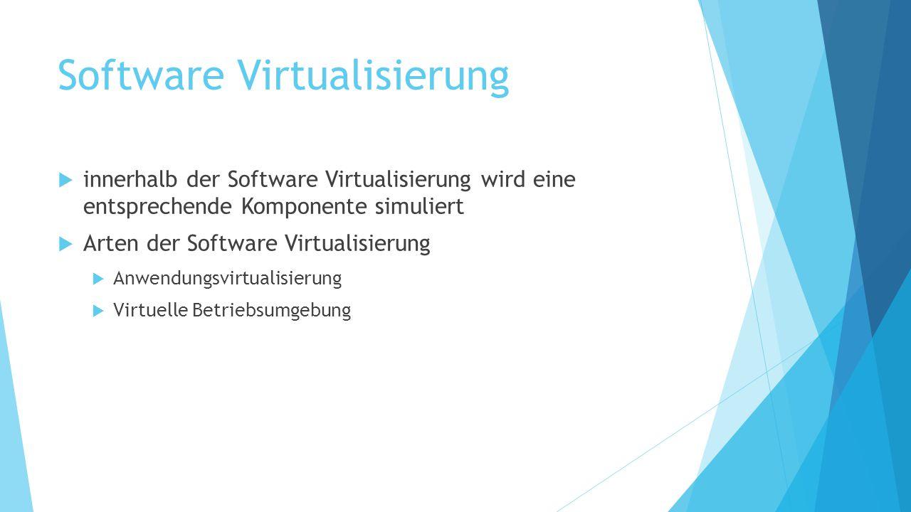 Software Virtualisierung