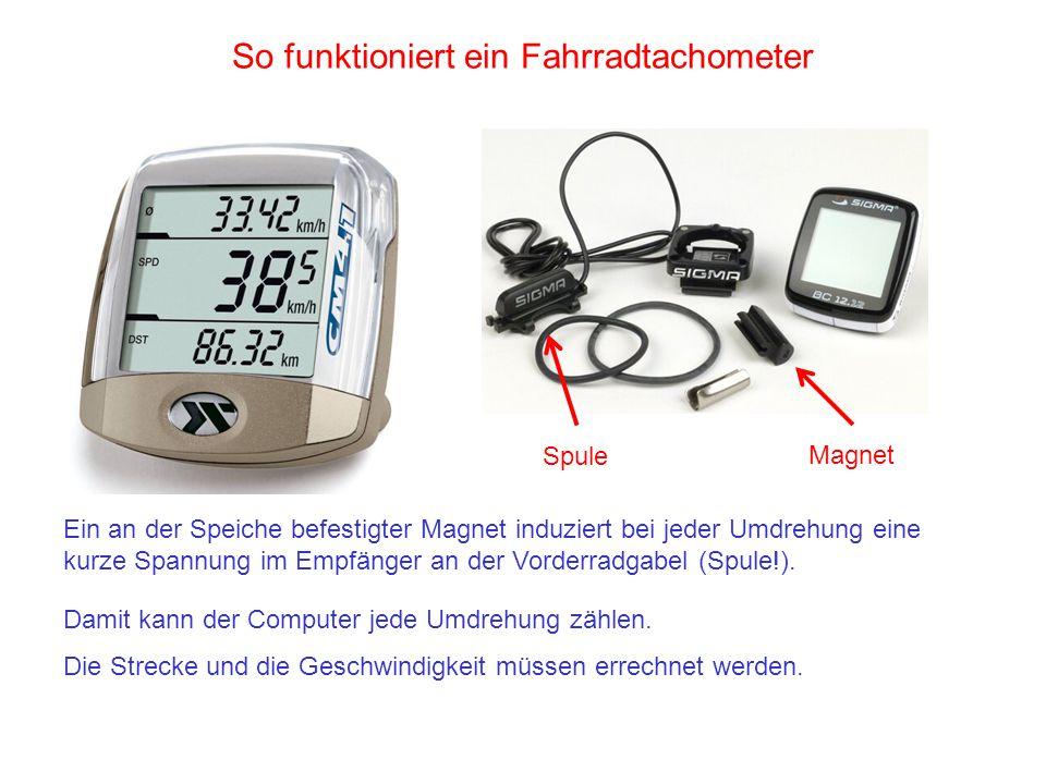 So funktioniert ein Fahrradtachometer