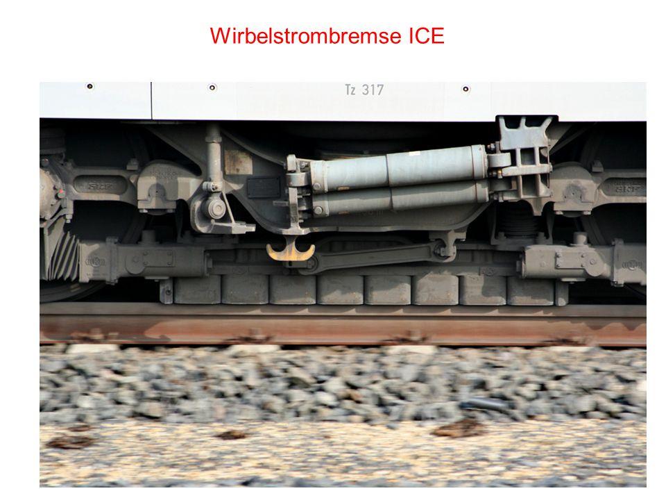 Wirbelstrombremse ICE