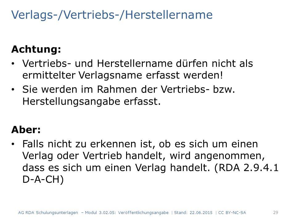 Verlags-/Vertriebs-/Herstellername
