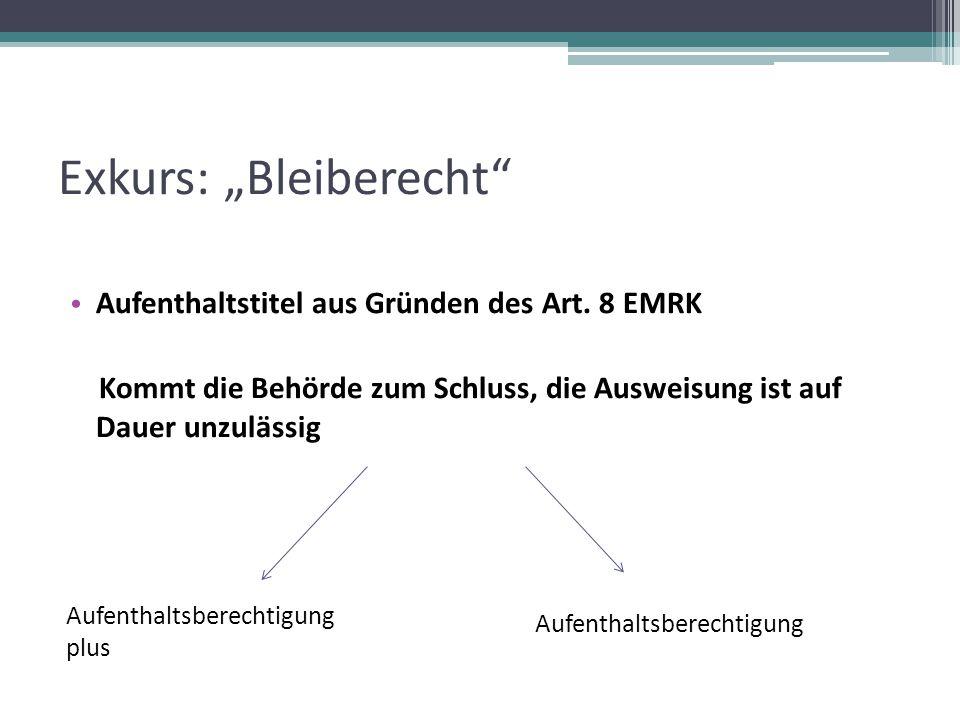 """Exkurs: """"Bleiberecht"""