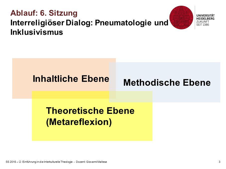 Theoretische Ebene (Metareflexion)