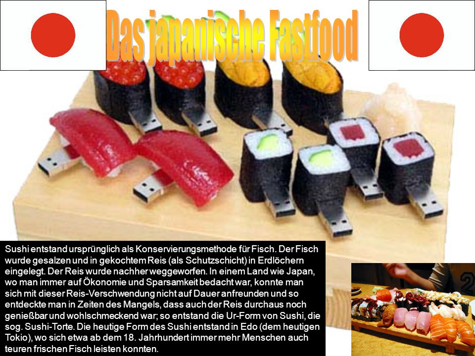 Das japanische Fastfood
