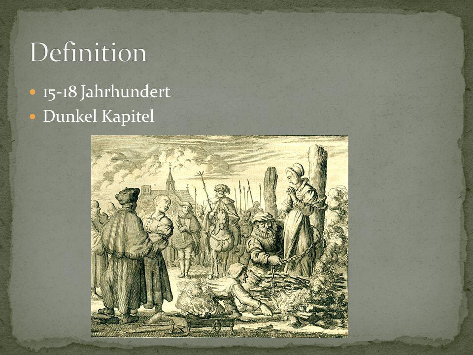 Definition 15-18 Jahrhundert Dunkel Kapitel