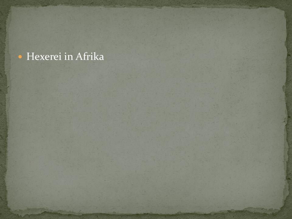 Hexerei in Afrika