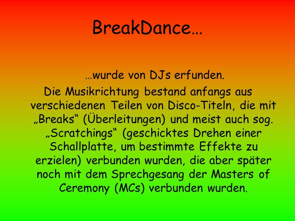 …wurde von DJs erfunden.