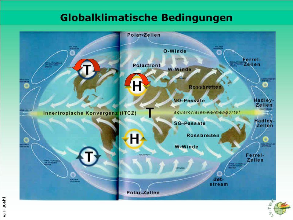 Globalklimatische Bedingungen