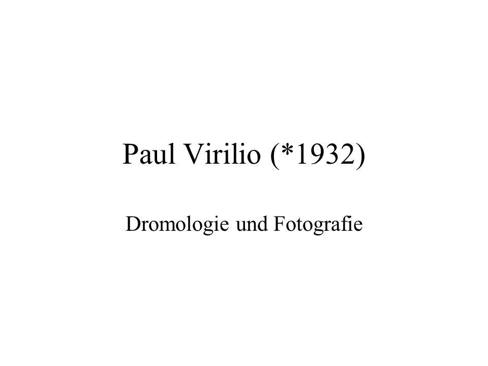 Dromologie und Fotografie