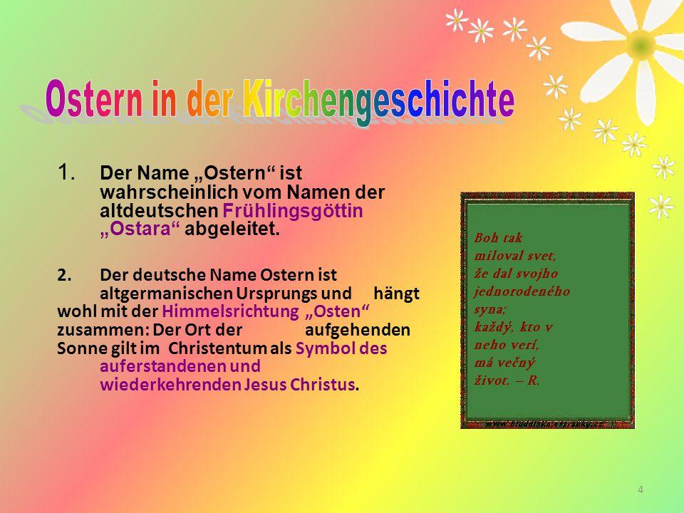 Ostern in der Kirchengeschichte