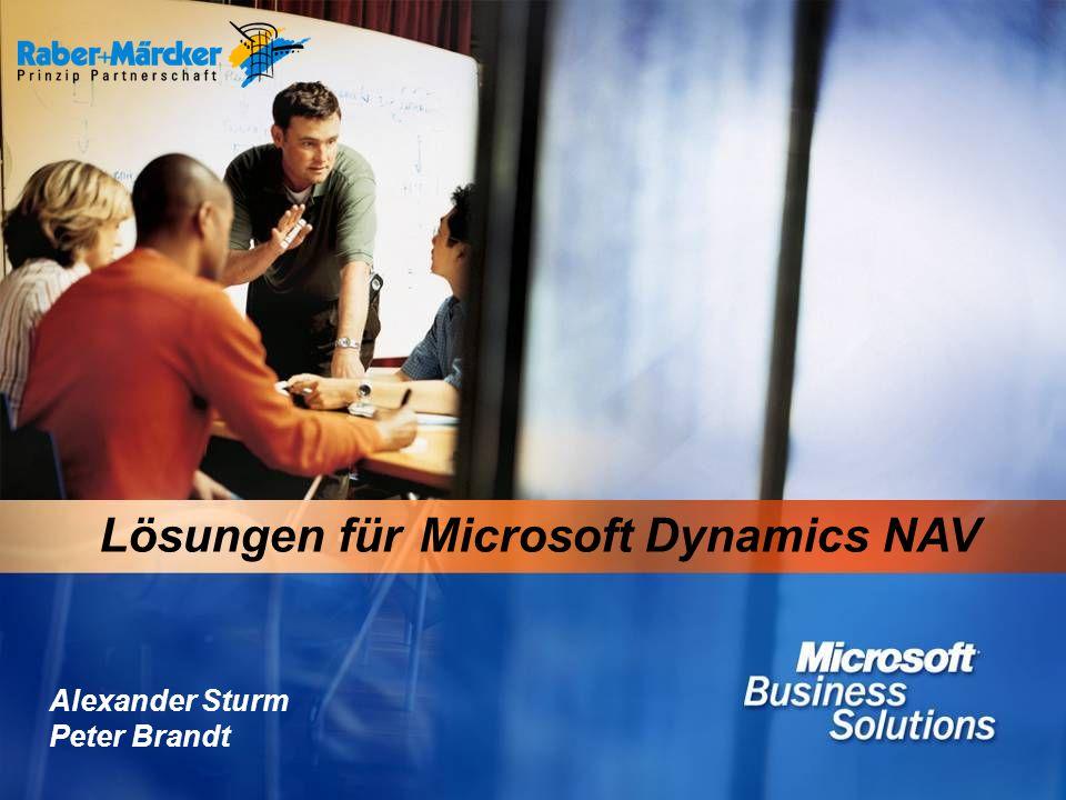 Lösungen für Microsoft Dynamics NAV