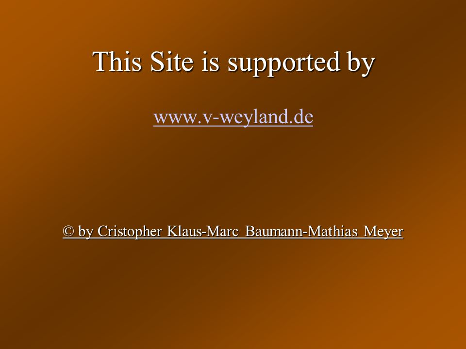 This Site is supported by
