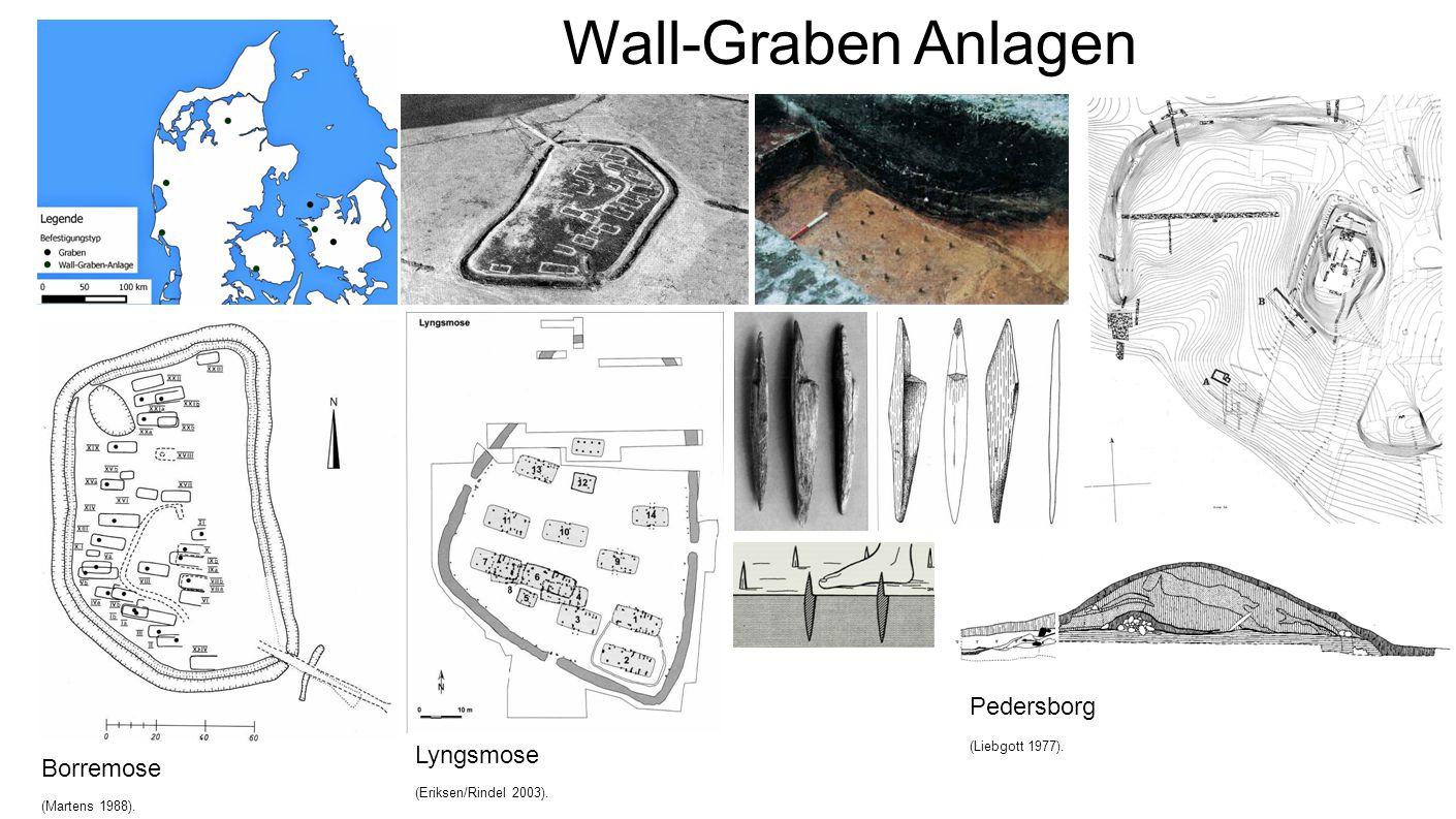Wall-Graben Anlagen Pedersborg Lyngsmose Borremose 18 18