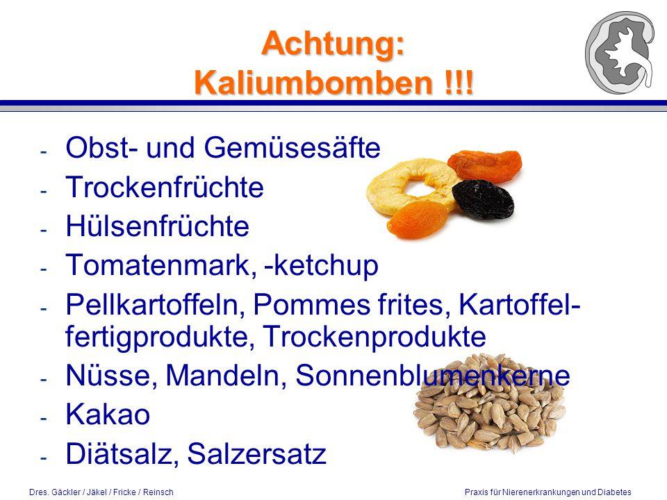 Achtung: Kaliumbomben !!!