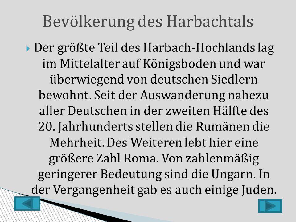 Bevölkerung des Harbachtals
