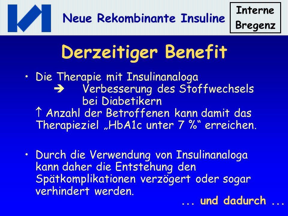 Derzeitiger Benefit