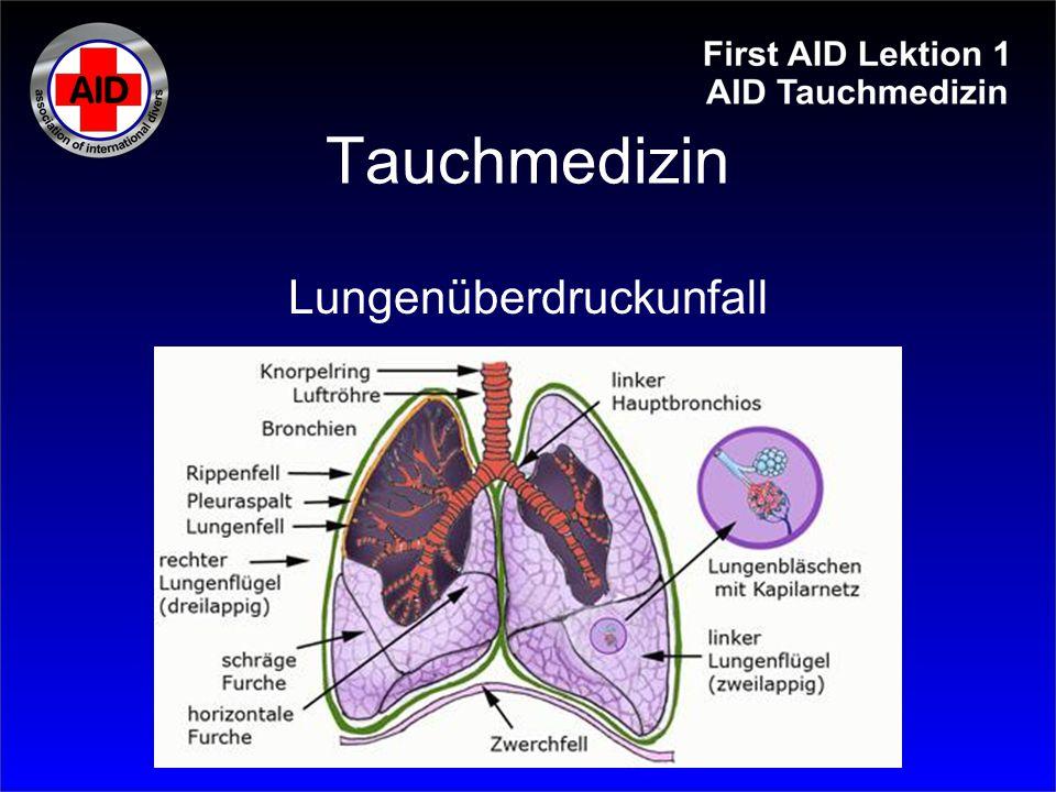 Lungenüberdruckunfall