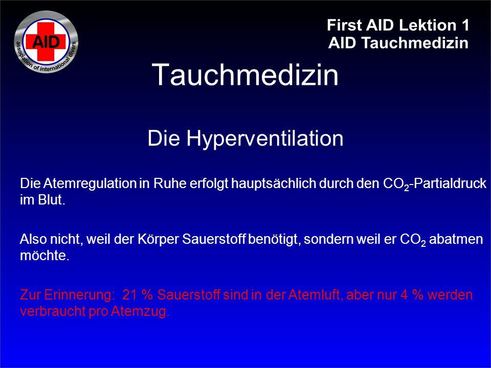 Tauchmedizin Die Hyperventilation