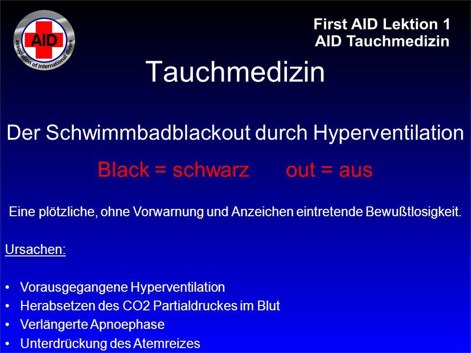 Tauchmedizin Der Schwimmbadblackout durch Hyperventilation