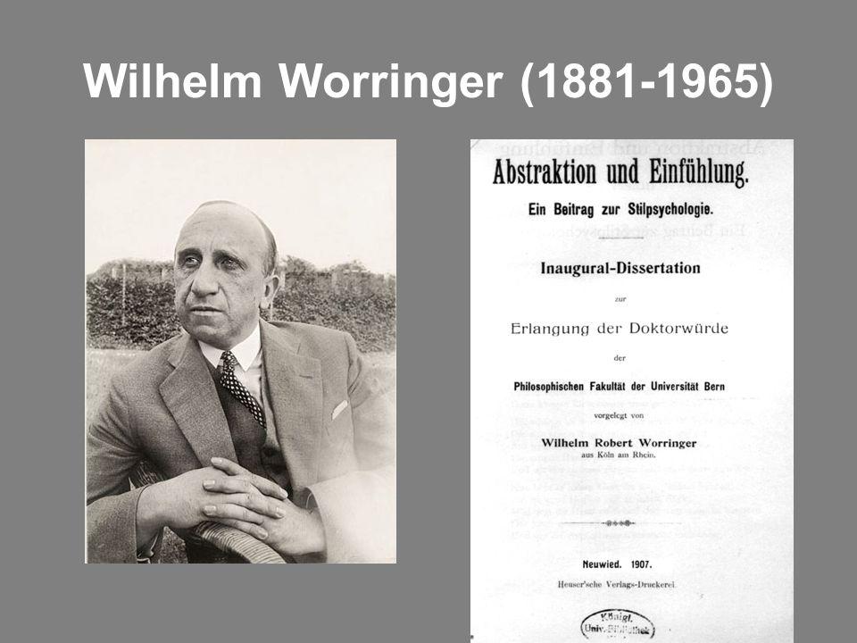 Wilhelm Worringer (1881-1965)