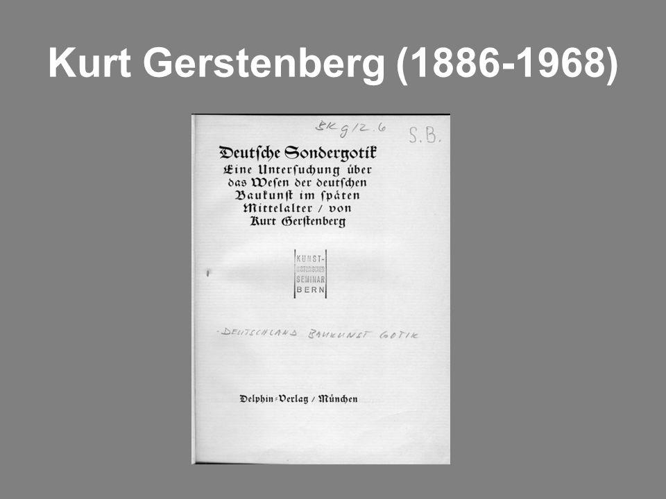 Kurt Gerstenberg (1886-1968)