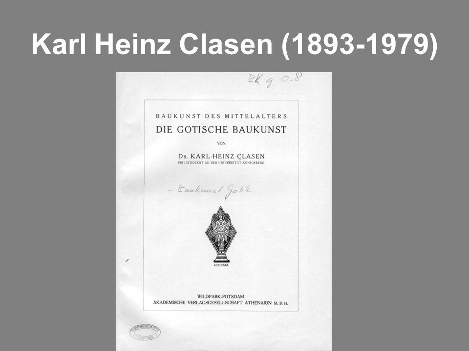 Karl Heinz Clasen (1893-1979)