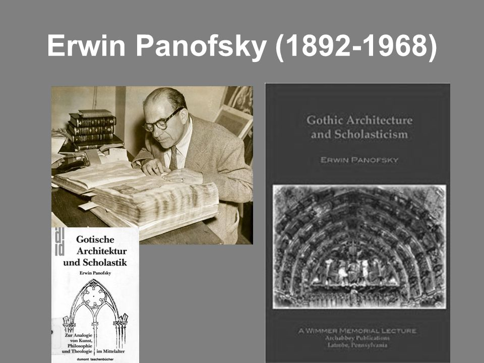 Erwin Panofsky (1892-1968)