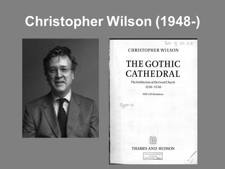 Christopher Wilson (1948-)