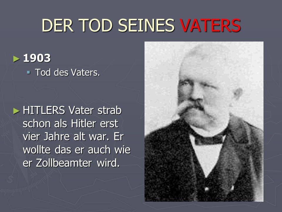 DER TOD SEINES VATERS 1903. Tod des Vaters.