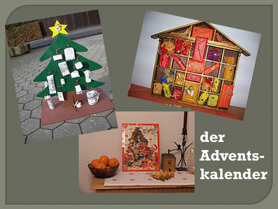 der Advents-kalender
