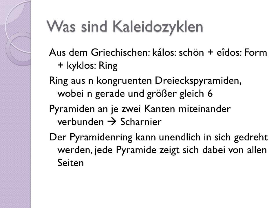Was sind Kaleidozyklen