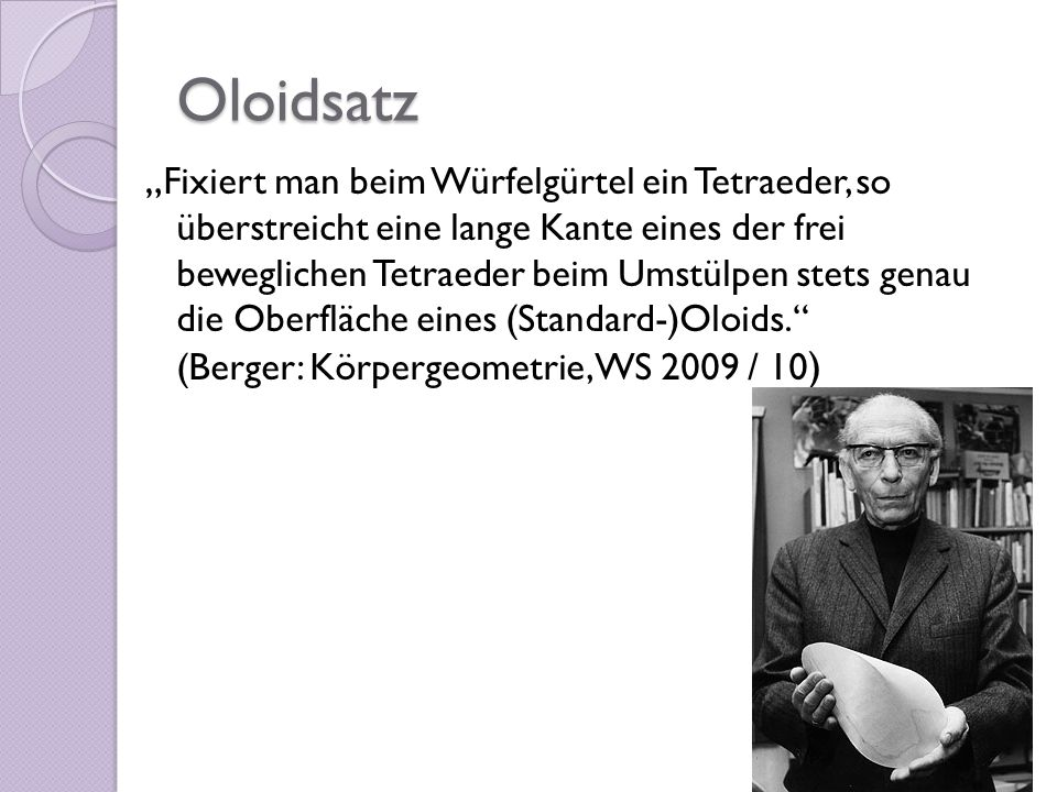 Oloidsatz
