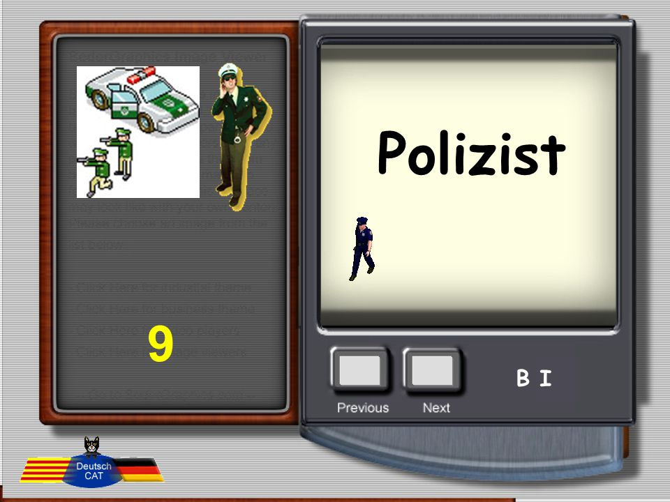 Polizist 9 B I
