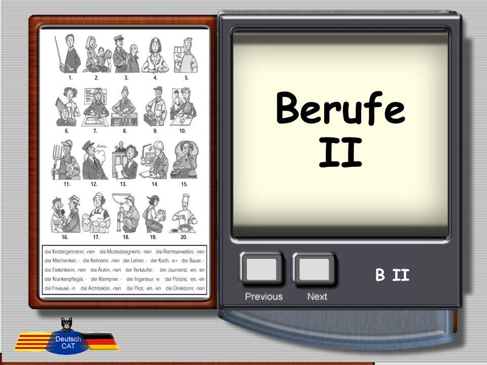 Berufe II B II
