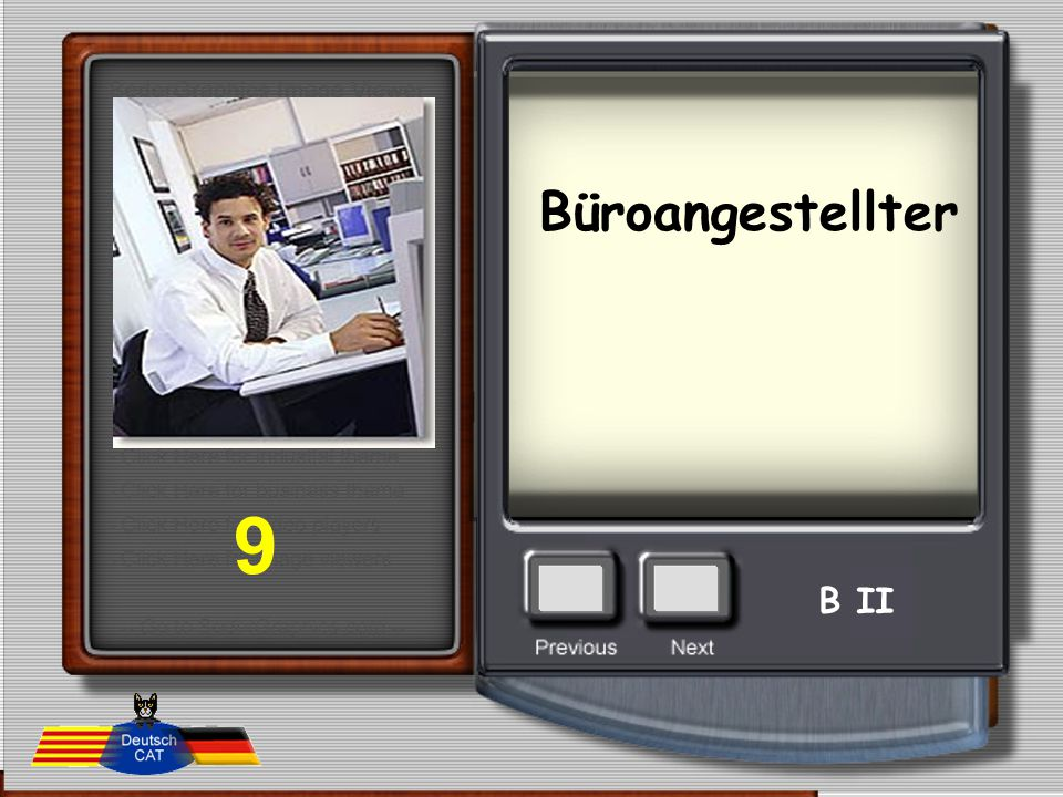Büroangestellter 9 B II