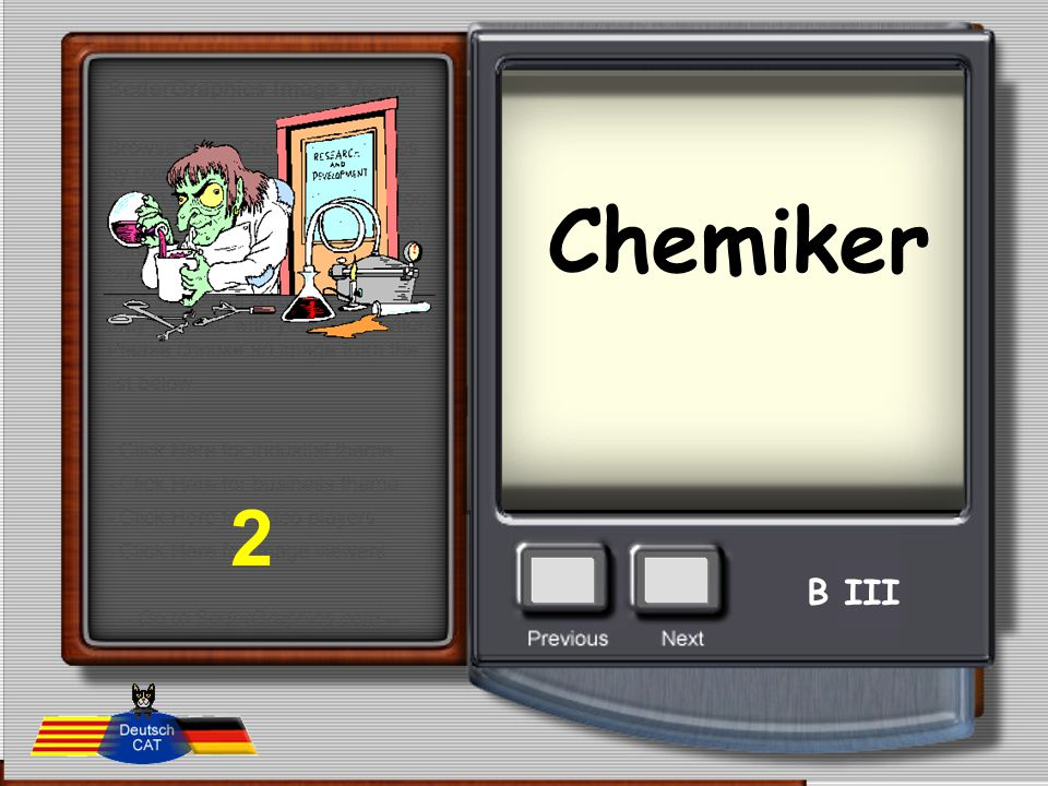 Chemiker 2 B III