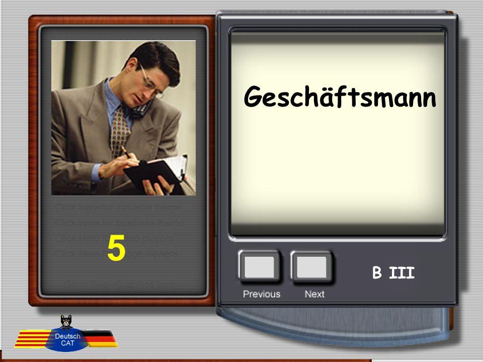 Geschäftsmann 5 B III