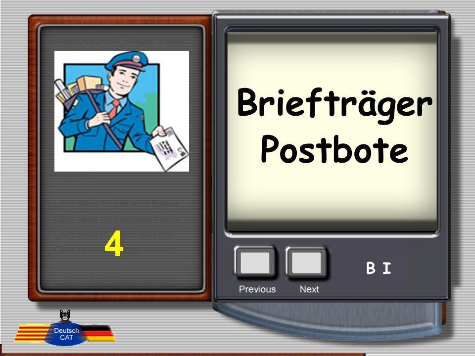 Briefträger Postbote 4 B I