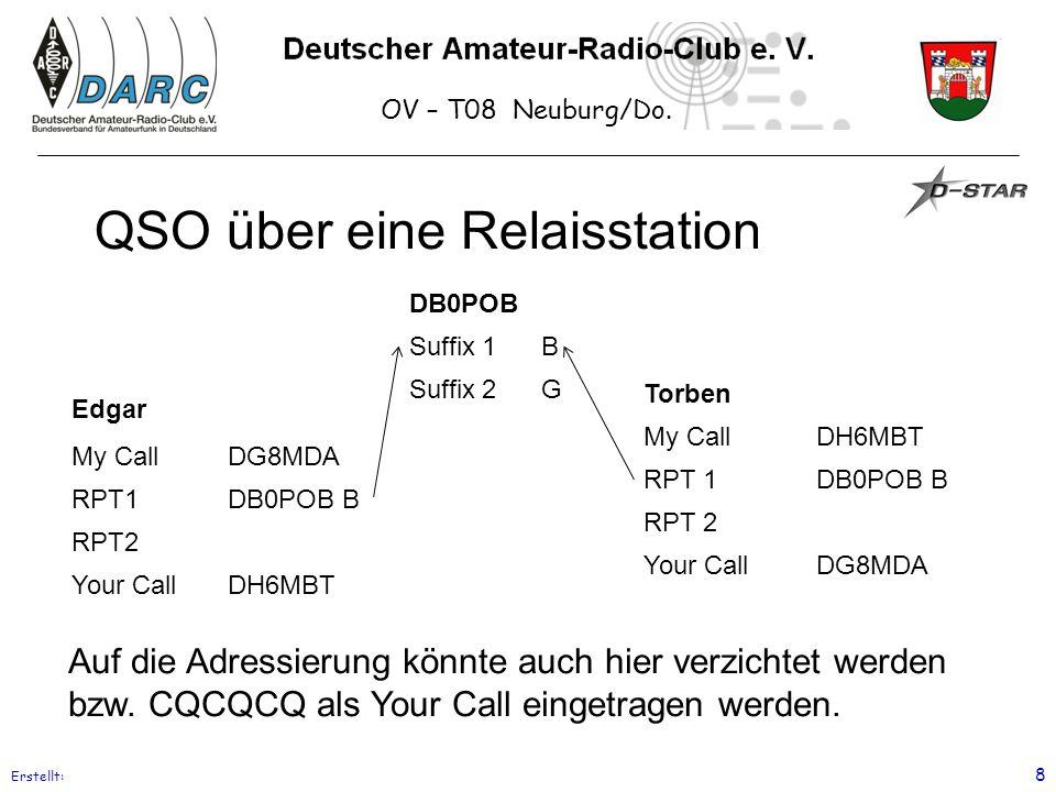 QSO über eine Relaisstation