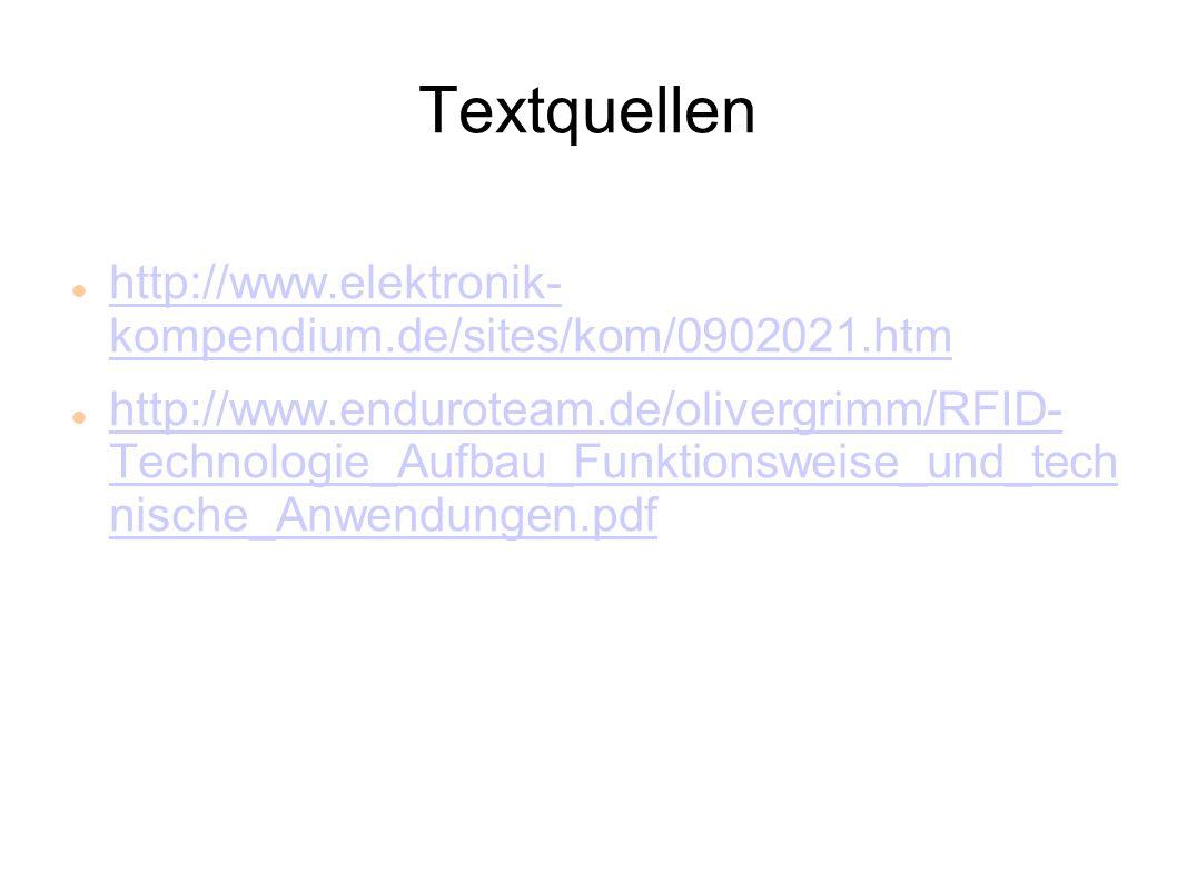 Textquellen http://www.elektronik- kompendium.de/sites/kom/0902021.htm