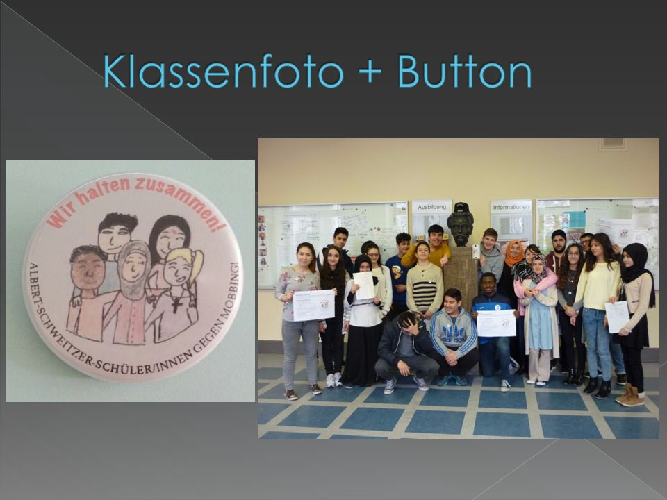 Klassenfoto + Button