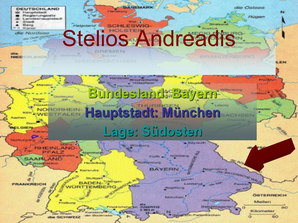 Bundesland: Bayern Hauptstadt: München Lage: Südosten