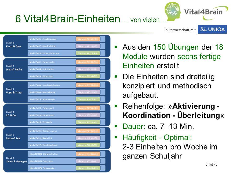 6 Vital4Brain-Einheiten … von vielen …