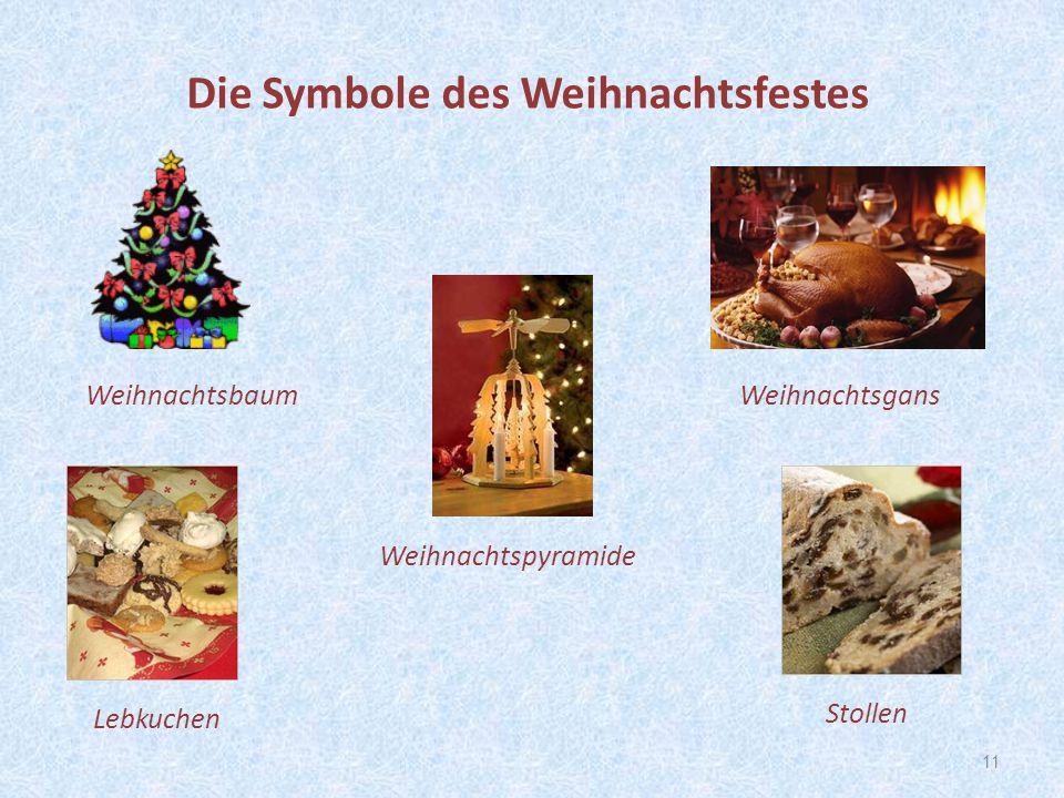 Die Symbole des Weihnachtsfestes
