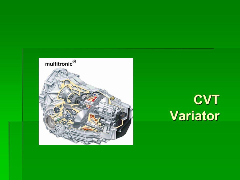 CVT Variator